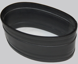 Black Rubber Tubing EDPM Flexible Sleeves