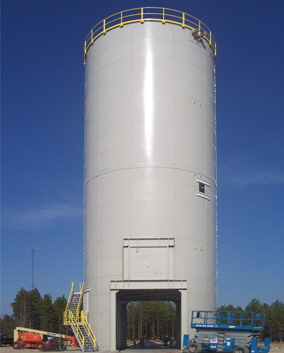 Bolted Silo with Truck Drive Thru