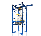 Bulk Bag Discharging System for FIBC Sacks