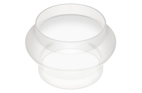 Conical Silicone Flex Connectors for Feeders