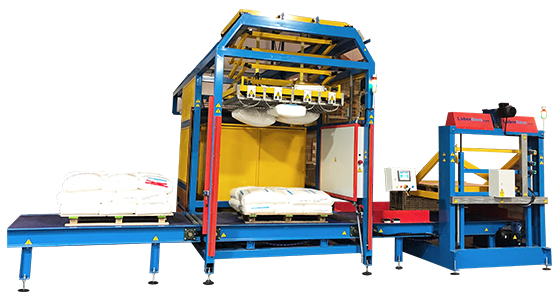 LaborSave Fully Automatic Sack Emptying System